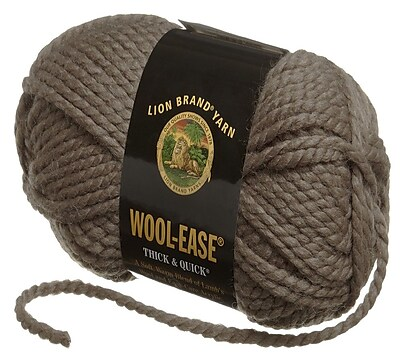 Wool-Ease Thick & Quick Yarn, Taupe