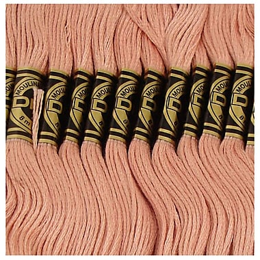 DMC Six Strand Embroidery Cotton, Very Light Shell Pink