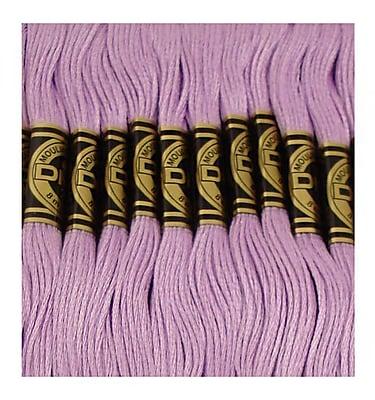 DMC Six Strand Embroidery Cotton, Medium Lavender