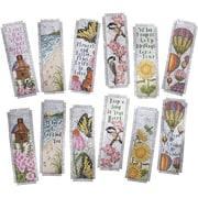 "Inspired By Nature Bookmarks Counted Cross Stitch Kit, 2-1/2""X8"" 14 Count Set Of 12"