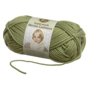 Superwash Merino Cashmere Yarn, Green Tea