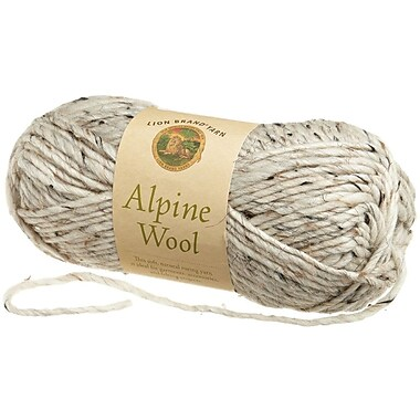 Alpine Wool Yarn, Oatmeal