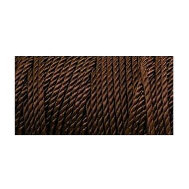 Nylon Thread Size 18, Deep Brown