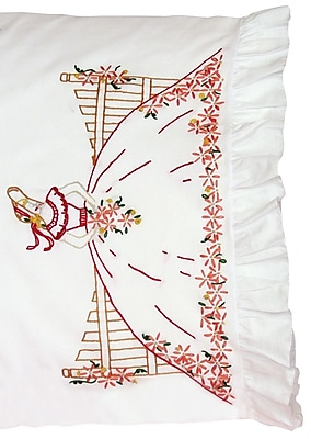 Stamped Lace Edge Pillowcase 30