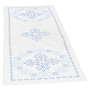 """Stamped Table Runner/Scarf 15""""X42"""", XX Americana"""