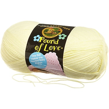 Pound Of Love Baby Yarn, Pastel Yellow