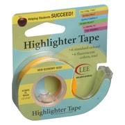 """Fluorescent Highlighter Tape 1/2""""X720"""", Fluorescent Yellow"""