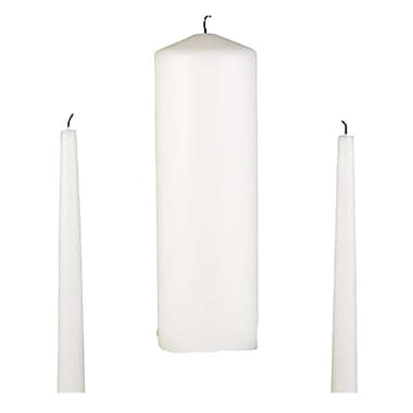 HBH™ Basic Unity Candle Set, White