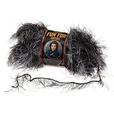Fun Fur Yarn, Onyx , Exotics