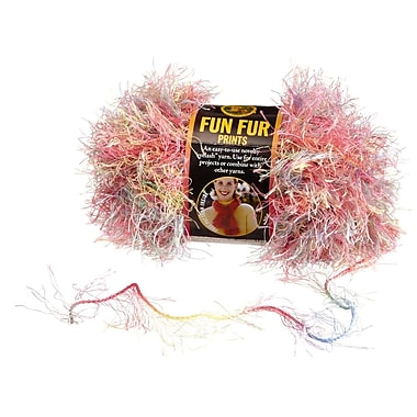 Fun Fur Yarn, Confetti Print
