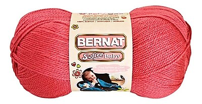 Softee Baby Yarn, Solids, Soft Red