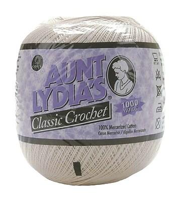 Aunt Lydia's Crochet Cotton Classic Value Size 10, White