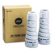 Konica Minolta 104A Black Toner Cartridge (8936-302), High Yield