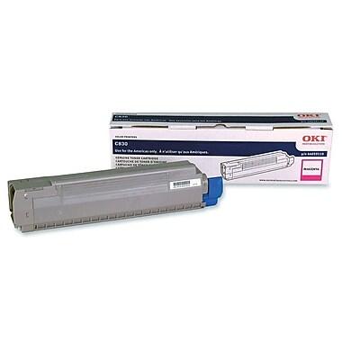 OKI Cyan Toner Cartridge (43865767), High Yield