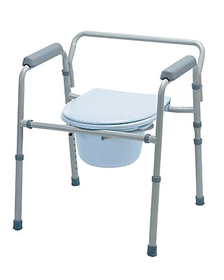 Medline Commode Seat and Lid Replacements, EZ-care C1 Commodes, 1/Set
