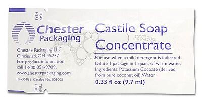Medline Castile Soaps, 600/Pack