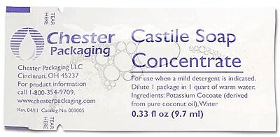 Medline Castile Soaps, 100/Box