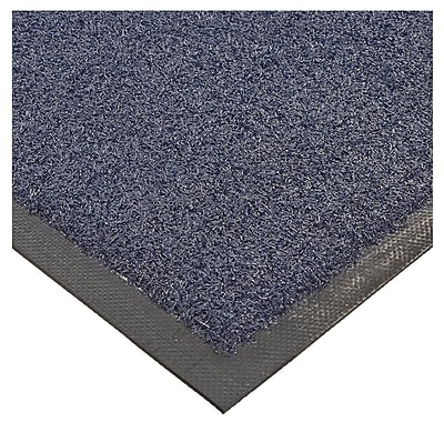 Andersen Brush Hog Nylon Entrance Mat, 4' x 6', Navy Brush with Cleated Backing