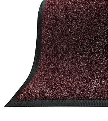 Andersen Brush Hog Nylon Entrance Mat, 4' x 10', Charcoal Brush with Cleated Backing