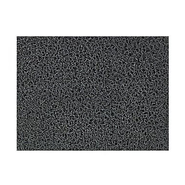 Andersen Brush Hog Nylon Entrance Mat, 3' x 5', Charcoal Brush with Cleated Backing