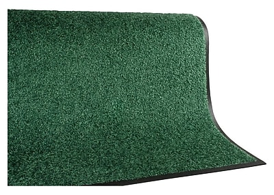 Andersen TriGrip Nylon Interior Floor Mat, 3' x 10', Emerald Green with Cleated Backing