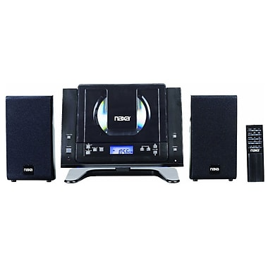 Naxa® NSM-437 Digital MP3/CD Micro System With AM/FM Stereo Radio