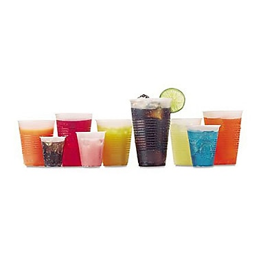 Fabri-Kal® RK Drink Cup, Translucent, 3 oz., 2500/Case
