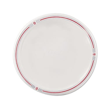 Chinet® Classic White™ POINT Dinnerware Plate, Molded Fiber, 500/Carton