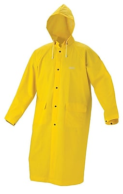Anchor Brand® Rain Coat, Yellow, Medium, 1 Each