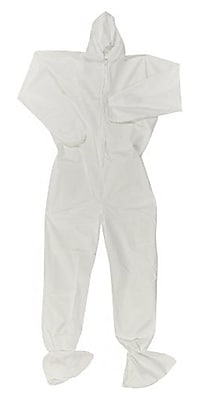 KleenGuard® A20 Breathable Particle Protective Coverall W/Hood and Boots, White, X-Large