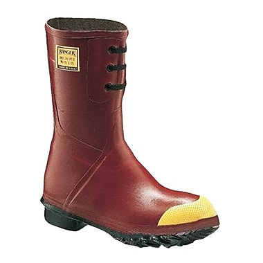 Norcross Safety 6147 Insulated Steel Toe Boots, Red, Size 9