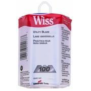 Apex Tool Wiss® RWK14D Heavy-Duty Blade, 100 Blades/Dispenser