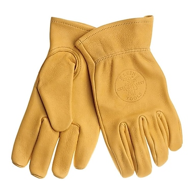 Klein Tools® Unlined Gunn-Cut Wing Thumb Work Gloves, Large