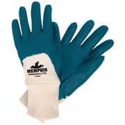 Memphis Glove Predalite® 9780 Nitrile Coated Gloves, Small, Blue