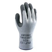 Showa Best® Glove ATLAS® Therma Fit® 451 Gray Coated General Purpose Gloves, Medium