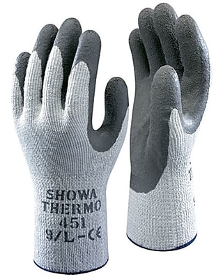 Showa Best® Glove ATLAS® Therma Fit® 451 Gray Coated General Purpose Gloves, Small
