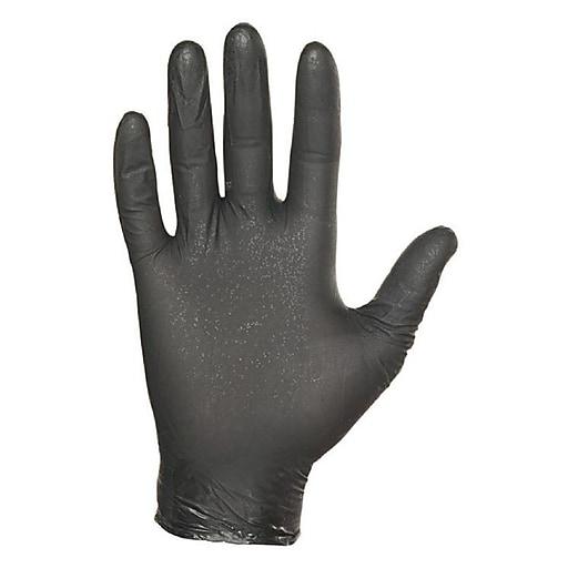 Showa® N-DEX® NightHawk® 7700 Nitrile Powder Free Disposable Gloves, XL