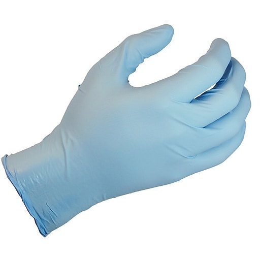 Showa® N-DEX® Plus 8005 Nitrile Powder Free Disposable Gloves, Medium (845-8005PFM)