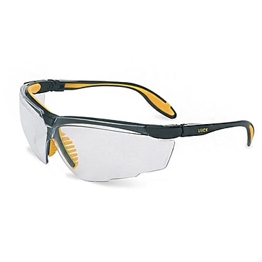 Uvex™ Genesis X2™ S3520X Eyewear, Clear/Black/Yellow