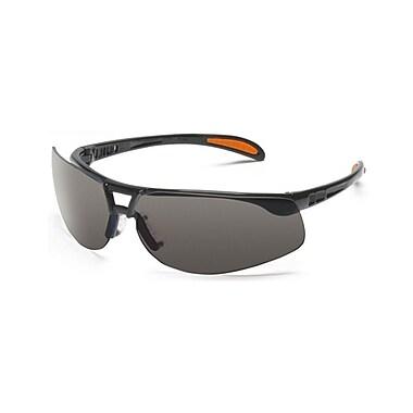 Uvex™ Protege™ S4201X Eyewear, Gray/Metallic Black