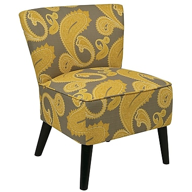 Office Star Ave Six Fabric Apollo Chair, Sweden Dijon (APL-S38)