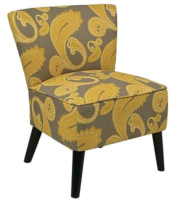 Office Star Ave Six Fabric Apollo Chair, Sweden Dijon (APL-S38)