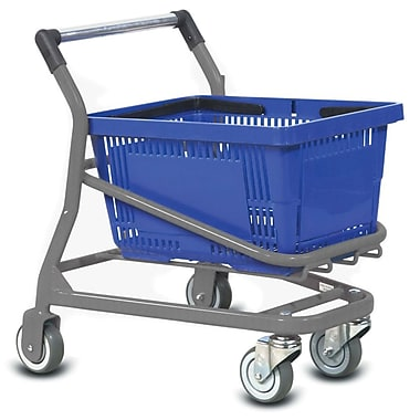 Kiddy EZCart Shopping Cart, Metallic Gray