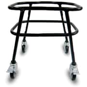 Rolling Stand for 40 Liter Baskets, w/ Brakes, Black
