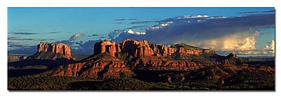 Trademark Fine Art Canyon by Preston-Ready to Hang Art 10x32 Inches