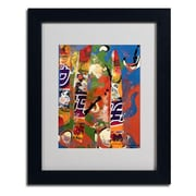 Trademark Fine Art Miguel Paredes 'Japanese I' Matted Art Black Frame 11x14 Inches