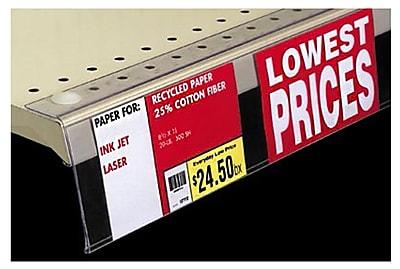 FFR Merchandising Flip-Up Covered-Face PVC Sign Holder, 2
