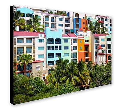 Trademark Fine Art CATeyes 'Virgin Islands 2' Canvas Art 30x47 Inches