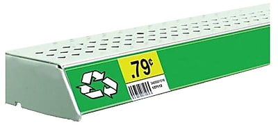 FFR Merchandising® Economy Self-Adhesive Data Strip® Label Holder, 3