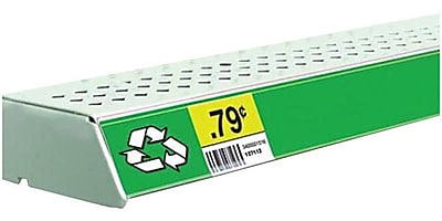 FFR Merchandising® Economy Self-Adhesive Data Strip® Label Holder, 1-1/4